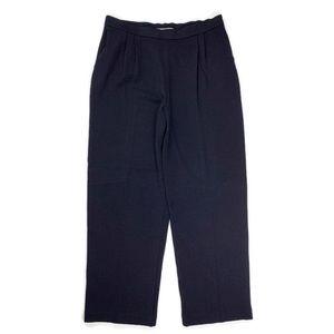 ST. JOHN Santana Knit Straight Leg Pants Size 14